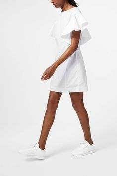 Weekday Fiona Dress in White