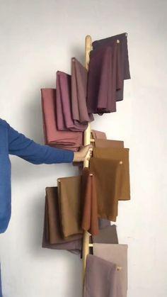 Pashmina Hijab Tutorial, Hijab Style Tutorial, Muslim Fashion, Hijab Fashion, Korean Fashion, Hijab Outfit, Ootd Hijab, Video Hijab, Diy Wedding Video