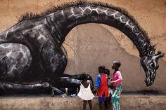 Wide Open Walls in Gambia #graffitiart