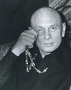 [DIED] Yul Brynner / Yuli Borisovich Bryner / Died: October 10, 1985 (age 65) in New York City, New York, USA (lung cancer)