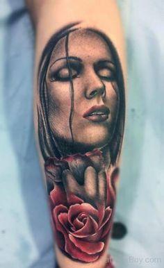 Tattoo by Rob Richardson at Immortal Art Custom Tattoo Studio in Carlisle, Cumbria, CA Leg Tattoos, I Tattoo, Cool Tattoos, Tatoos, Picture Tattoos, Tattoo Photos, Portrait Tattoos, Big Tattoo Planet, Photo Realism Tattoo