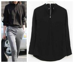 Silver-Tipped Silky Sweatshirt, $17   This Wholesale Fashion Site Could Be The Answer To Your Wardrobe Needs