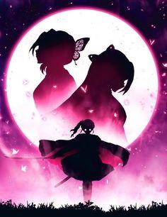 Kimetsu no yaiba Anime Angel, Anime Demon, Otaku Anime, Manga Anime, Anime Art, Demon Slayer, Slayer Anime, Manga Dragon, Tamako Love Story