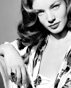 """I am not a has-been. I am a will be."" Lauren Bacall."