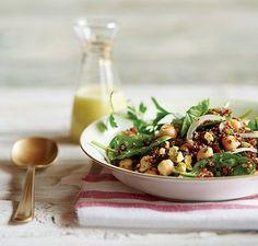Pistachio Date Quinoa Salad for New Year's Eve   Vitamix Recipe