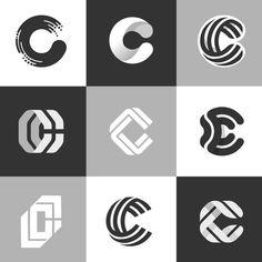 Some initial concepts finished) Logo Typo, Dj Logo, Logo Branding, Branding Design, Future Logo, Logo Minimalista, Typographie Logo, Logos, Logo Shapes
