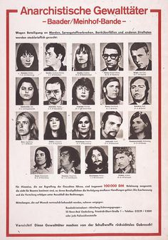 The Baader-Meinhof Group, also known as Red Army Faction, was a left-wing militant group active in West Germany from 1970-1998.