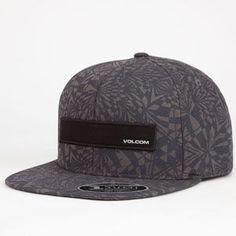 best website 5e624 9a602 VOLCOM Badge Mens Snapback Hat 250240111   Snapbacks Flat Bill Hats,  Bandanas, Cool Hats