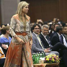 La reine Maxima des Pays-Bas à Jakarta, le 30 août 2016