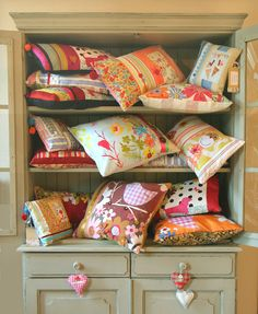Handmade Cushions-display
