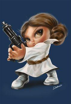 Princess Leia ToyArt by CrisDelaraArt.deviantart.com on @DeviantArt