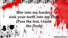 "Simon Curtis - Flesh (lyrics) ""Vamp & other supe friendly song"" MtF."