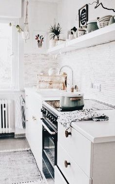 how perfect is this kitchen?! | home inspiration, house, living space, room, scandinavian, nordic, inviting, style, comfy, minimalist, minimalism, minimal, simplistic, simple, modern, contemporary, classic, classy, chic, girly, fun, clean aesthetic, brigh