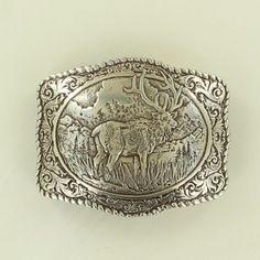 Elk Belt Buckle Fivelas De Cinto De Rodeio 8d59ffecc76