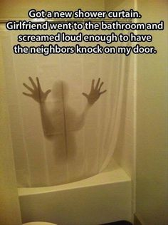 Awesome shower curtain! For more fun visit: http://lolozaur.com