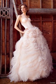 Lazaro Fall 2015 Wedding Dresses | Wedding Inspirasi