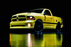 Ram has revealed the Ram 1500 Rumble Bee concept at the Woodward Dream Cruise in Detroit. It is based on the Dodge Super Bee muscle cars from the late Ram Trucks, Lowered Trucks, Dodge Trucks, Pickup Trucks, Dodge Pickup, Lifted Trucks, 2013 Dodge Ram, Dodge Ram 1500, 2016 Ram