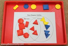 Advanced sorting skills with Venn diagrams - teach your children advanced sorting and categorization skills using Venn diagrams, in which the sorting categories are not mutually exclusive but overlap 1st Grade Math, Kindergarten Math, Teaching Math, Grade 2, Venn Diagram Worksheet, Venn Diagrams, Sorting Activities, Toddler Activities, Kids Survival Skills