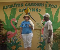 Ardastra Zoo in Nassau, Bahamas