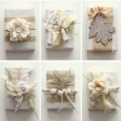 DIY packaging. LOVE!