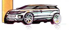 land rover evoque sketch - Google 検索