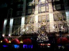 35TH Street in NYC in 2010.  Christmas time in NYC.  Enjoy the video.