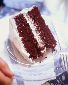 Red velvet cake from Martha Stewart. A nursing student made this recipe once and it was so moist so I would like to try it.