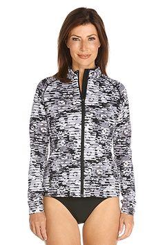 Long Sleeve Water Jacket: Sun Protective Clothing - Coolibar