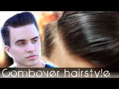 Comb Over mens hair - Classic hairstyle - How to style your hair so it w...