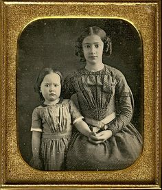 Is there anything more to be treasured than a kind and loving big sister.... in the 1840s...or now?
