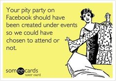 How I feel when people air their dirty laundry on FB - mean but true