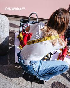 Chiara Capitani stars in Off-White's SS17 campaign Shot by Piotr Niepsuj