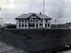 Duluth Missabe & Northern depot at Proctor, Minnesota.