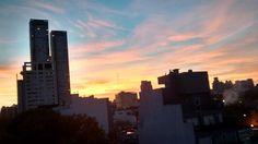 Palermo sunrise. Buenos Aires.