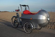 boxer cycles' rocket cargo trike resembles 1930s airliners -