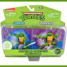 Teenage Mutant Ninja Turtles Collectible Figurines [Leonardo and Donatello]