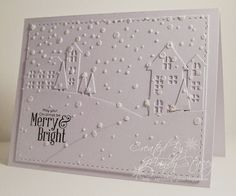 Love this White on White Creation by Mandy using Simon Says Stamp Exclusives.