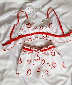 """Купить Пижама женская - Одежда для дома """"Любимая"""" - пижама женская, комплект для дома, белье для сна"""