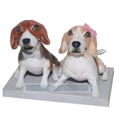 Customized Pets Bobbleheads Lying Down On The Ground