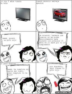 El arte de trollear lo inventaron los padres →  #humorgrafico #imagenesgraciosas #memesenespañol #memesparafacebook #ragecomics