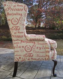 Love the Type on the chair. #GraphicDesigner