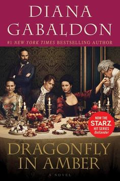 """nuova edizione americana di """"Dragonfly in Amber"""", libro 2 della serie di Outlander"""