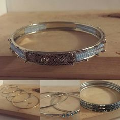 Lots of new items in my shop! Shop now and get them in time for Christmas! Shop Now, I Shop, Bangles, Bracelets, Handmade Jewelry, Christmas, Silver, Shopping, Etsy