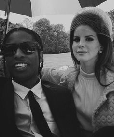 B&W // Lana Del Rey // ASAP Rocky // national anthem