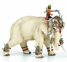 Schleich Elephant Fighter New Heroes People Sale 2020 The largest selection of Schleich toys Animals, Horses, Knights, Dinosaurs, Smurfs. War Elephant, Elephant Love, Elephant Design, Witch King Of Angmar, Bryer Horses, Dragon Games, Fantasy Miniatures, Prehistoric Animals, Albino