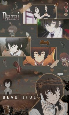 Bungou Stray Dogs Wallpaper, Dog Wallpaper, Cute Anime Wallpaper, Apple Wallpaper, Dazai Bungou Stray Dogs, Stray Dogs Anime, Otaku Anime, Anime Guys, Dazai Osamu