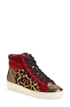 afcf0dd97481dd Sam Edelman  Britt  High Top Sneaker (Women) available at  Nordstrom Toddler