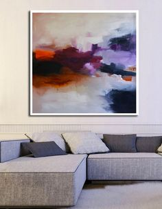 Purple Mist,Purple Abstract Giclee print,Purple Giclee Print,Abstract Painting,Large Abstract Painting,Pink violet Art Print,violet print