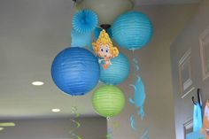 """Photo 7 of Bubble Guppies / Birthday """"Bubble Guppies Birthday"""" Toddler Birthday Themes, Second Birthday Ideas, Kids Party Themes, Baby Girl Birthday, 3rd Birthday Parties, 2nd Birthday, Party Ideas, Happy Birthday, Underwater Birthday"""