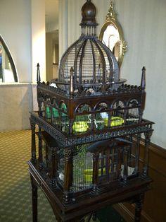 Bird Cage Art nouveau en la ciudad de mexico